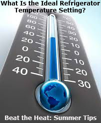 Refrigerator Temperature SEttings