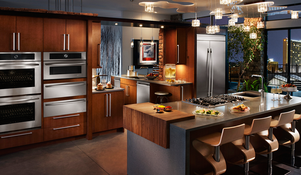 Kitchens With Fridgidaire Professional Appliances