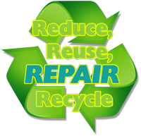 Reduce, Reuse, REPAIR, Recycle