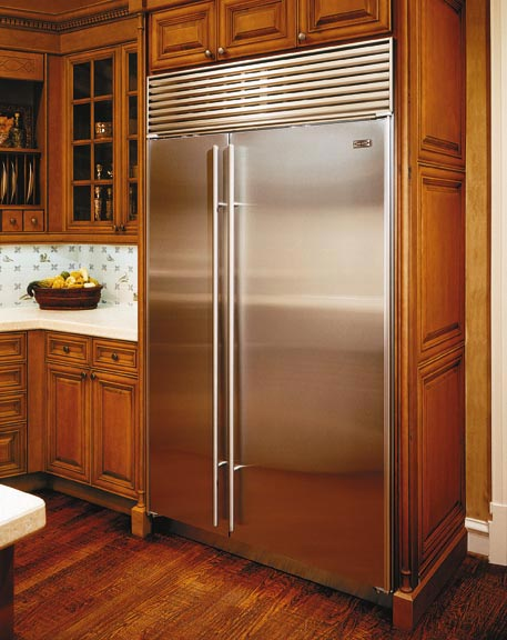 Sub Zero Fridge Stainless Steel Doors Image Cody S