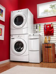 amana stacked dryer