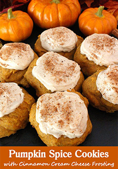 Pumpkin Spice Cookies Thanksgiving