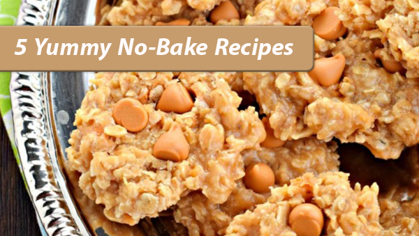 5 Yummy No Bake Cookie Recipes