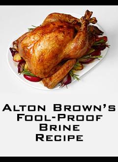 turkey brine alton brown