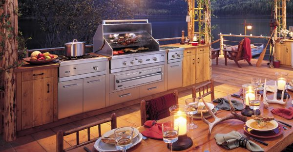 Best high end grills and smokers cody 39 s appliance repair for Viking outdoor kitchen