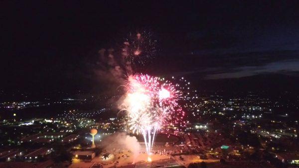 fireworks meridian id