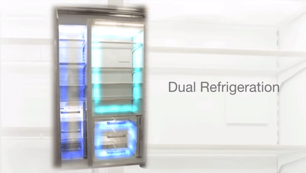 what is the difference between sub zero and regular refrigerators