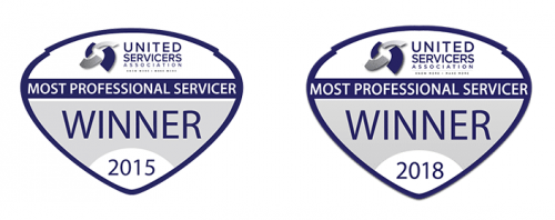 most professional servicer awards