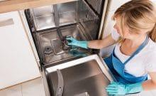 my kitchenaid dishwasher has odor