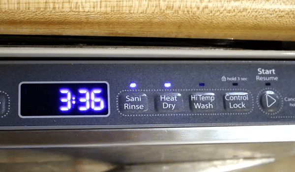 how to sanitize items with your dishwasher