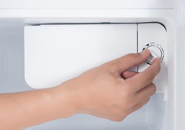 freezer isn't defrosting