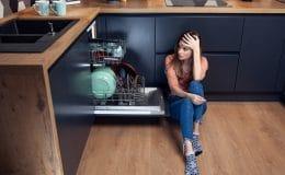 electrolux dishwasher won't drain